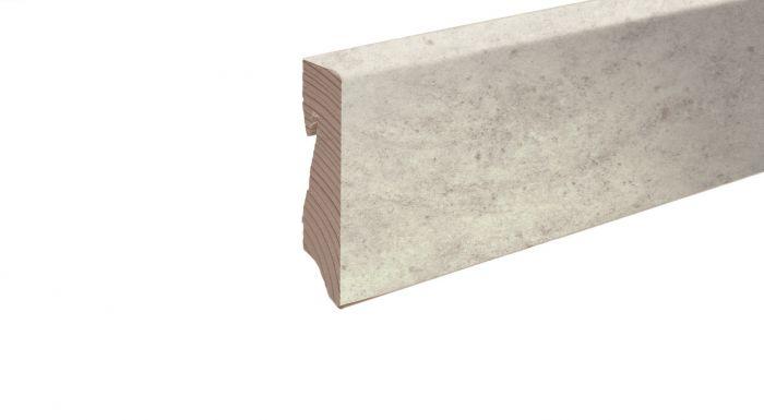 Sockelleisten -Silber/ Grau-
